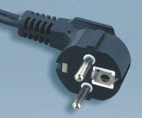 Euro Power Cord  VDE 3PIN Power cord