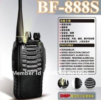 Baofeng 5W 16CH UHF400-470NHZ Handheld Two way Radio BF-888S walkie talkie