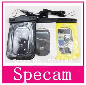 Waterproof Bag Pouch Dry Bag waterproof Case cover Mobile Mp3 Camera PassportSwimming Surfing Skiing Camping Accessory Freeship