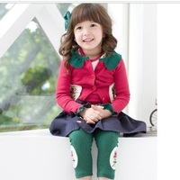 Kid's skirt bust skirt short skirt with belt kc-027 freeshpping