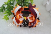 2013 Halloween hair bows,sell hot, free shipping fee via DHL to your door!!!