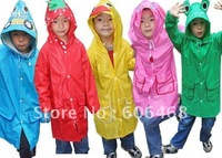 Linda Linda Funny Rain Coat,Kids Raincoat/Rainwear/Rainsuit,Kids Waterproof Garment/Animal Raincoat,free shipping
