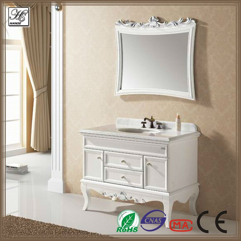 43 inch oak solid wood wholesale bathroom vanities HS-A808(China (Mainland))