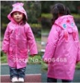 Sell one like this   Kids Children Funny Raincoat Cartoon -Auto-Duck-Bunny-Frog Rain Coat waterproof