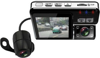 Dual Lens car dvr the second lens can be separated