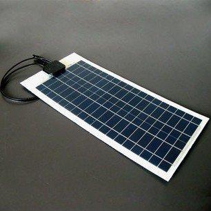 20w 18v flexible monocrystalline solar panel very slim