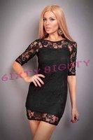 Женское платье Purple/Black