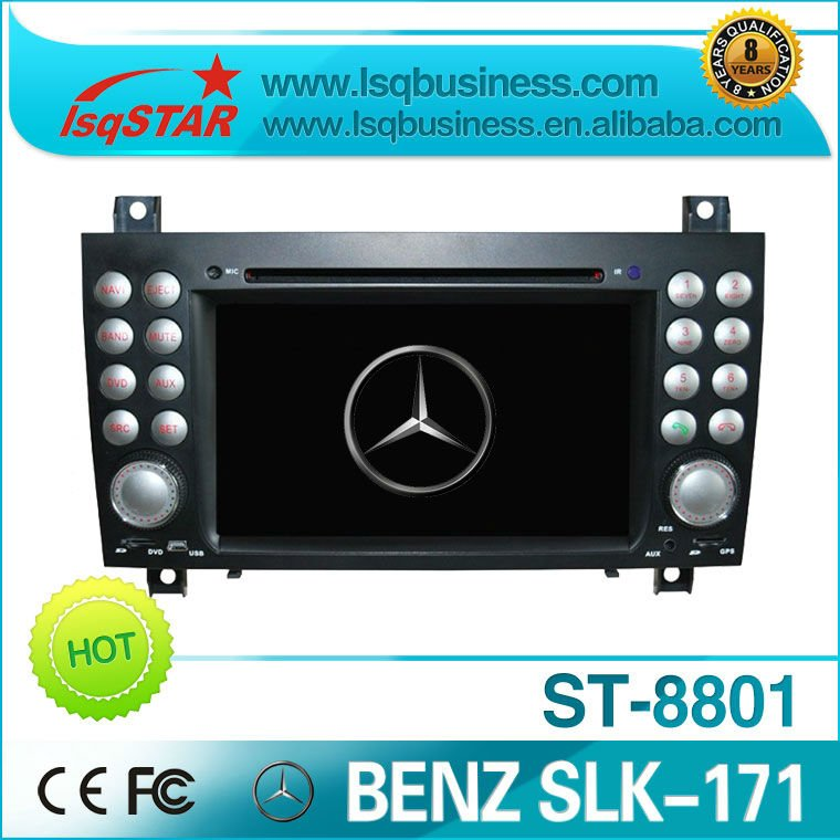 Mercedes Benz SLK-171 car dvd player with gps navi ST-8801 free shipping with great quality!(China (Mainland))