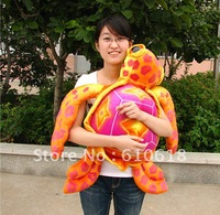 Free Shipping 98CM Creative Cushion Pillow Big Eye Turtle Plush Toy Stuffed Animals Child Friends Gift  Household Decoration