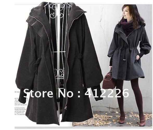 New-arrival-women-plus-size-long-winter-coats-Woolen-Cashmere-Overcoat-Women-hooded-jacket-free ...