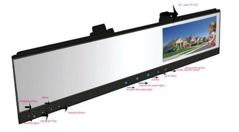 "Best price on promotion! 4.3"" TFT Monitor car rearview mirror DVR dual cameras"