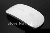 Hot Sale Promotion 2.4 GHz White Wireless USB Optical Mouse for APPLE Macbook Mac Mouse, Free & Drop Shipping