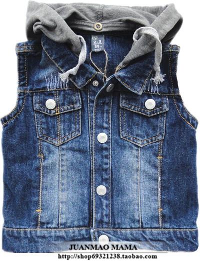 Джинсовая жилетка для мальчика своими руками из старых джинс