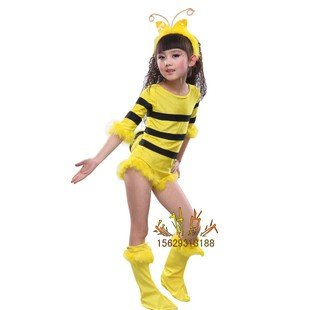 Free shipping--Child Halloween Costume /Party Costume/Christmas clothing/children animal costumes /Little bee suit