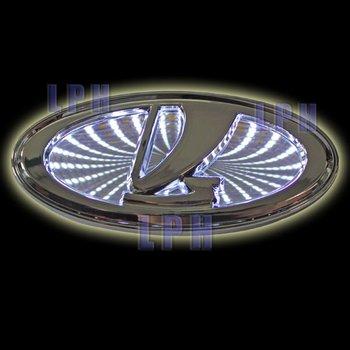 3D car logo light for Lada Kalina ,car badge light,auto led light,auto emblem led lamp