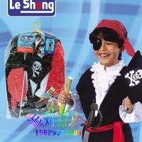 Free shipping--Child Halloween Costume /Party Costume/Christmas clothing / cosplay/ masquerade costume/Child pirate suit