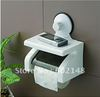 Free shipping 1pcs/lot powerful suction  bathroom accessories  toilet paper holder/stand