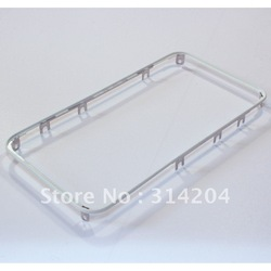Cell Phone Lcd Front Bazel Digitizer Frame White for iPhone 4 (MOQ: 50PCS/Lot) by Air Mail(China (Mainland))