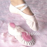 Best selling! soft ballet shoes dance shoes kid shoes both for childrend and adult free shipping 1pair