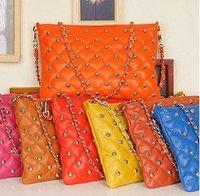 wholesale Leisure Casual hobo rivet shoulder bag sling  Handbag  Designer Lady girl's popular Fashion