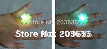 drop shipping led light finger ring,flash finger ring,lovely finger ring,50pcs/lot