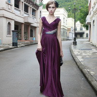 free shipping Creative tocsins formal dress evening dress banquet formal dress 80512