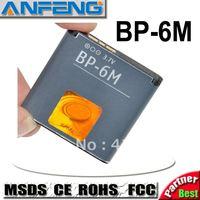 Genuine 1000mah BP-6M battery for Nokia 9300 6280M 6233 3250 6151 6288 9300i N77 6234 6288 N73 N93 N93S 10pcs/Lot free shipping