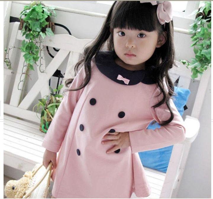 Платье для девочек Girl's dress skirts petticoats outfits baby dress skirt, baby girl pink button clothing