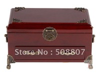 Wholesale - Exquisite Jewelry case Jewelry boxs Trinket Box wooden boxs free shiping 4001
