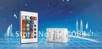 24-key rgb led infrared controller,DC12v,Common anode,with jump/gradual color changing,5pcs/lot ,DHL free shipping!