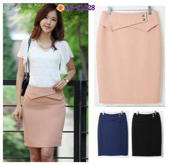 Free shipping, Korean career style 2012 new OL women sexy slim short skirt / 3colors, S,M,L,XL,XXL,XXXL plus plus size