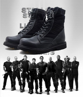 Hot Selling!   Mens Hiking Boots / Police Boots to Calf, High Quality with Good Prices