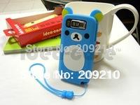 New Cartoon Rilakkuma Lazy Bear Soft Back Case for Nokia E72 E72i, With Retail Package,free shipping 1pcs min order