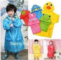 Free Shipping 10piece Animal Raincoat Linda / Children's Raincoat / Kids Rain Coat / Children's rainwear / Baby Raincoat