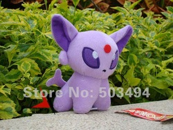 Game Pokemon Plush Toy Espeon 5&quot; Doll Collectible Soft Stuffed Animal(China (Mainland))
