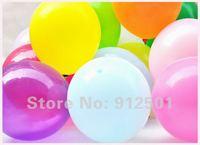 Free shipping 100pcs/lot 10inch 2.2g Latex Pearl balloons  standard color balloons