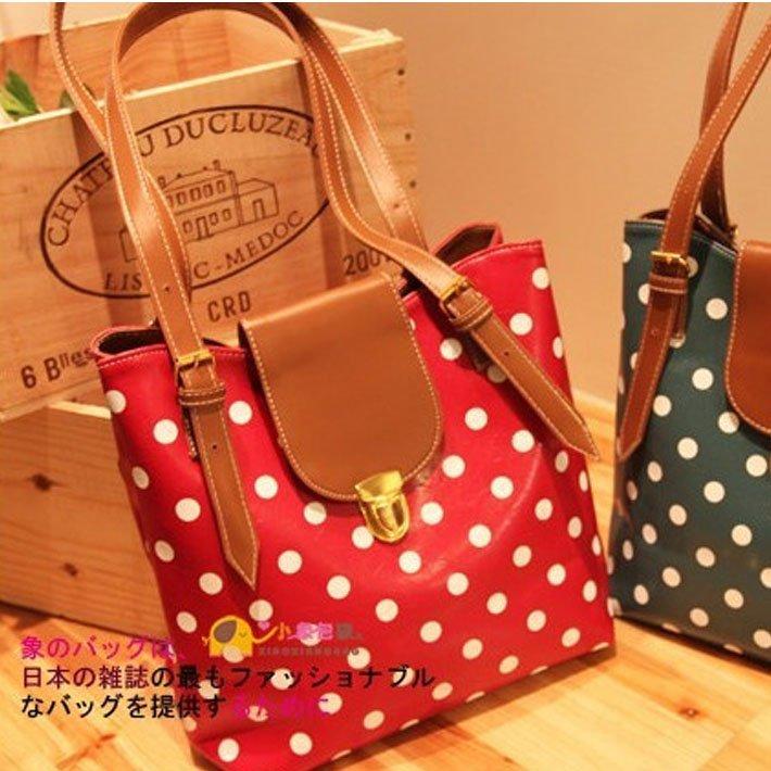 New star bags!2012 Spring summer handbags polka dot bag, woman handbags, ,wholesale,dropship, freeshipping h73(China (Mainland))