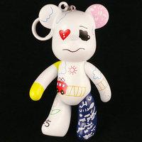 Momo bear popobe 5 violence bear doll t7 bags pendant