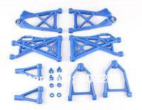 Free Shipping-Baja 5B/5T/5SC Nylon A arm set for one whole car,Nylon parts,White,Blue,Black