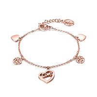 wholesale florid fashion 18k color gold rose women's bracelet gold plated bracelet, 18k jewelry FB037