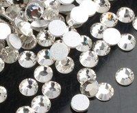 Free Shipping, SS16 (3.8--4mm)--High Shine 1440pcs 001 CRYSTAL AB Nail rhinestones high quality SS16-03