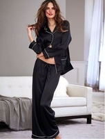 VS020 Luster is exquisite, rayon multicolor leisure wear pajamas suit Drop shipping /Wholesale Free Shipping