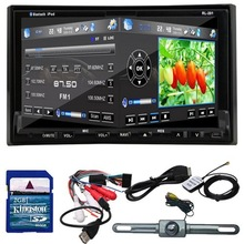 "Rear Camera GPS Navigation 3D PIP Map 7"" In Dash 2 Din Car DVD Player Bluetooth TV Radio Steering Wheel(China (Mainland))"