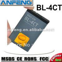 Real 1000mAh BL-4CT battery for nokia 2720f/3720/5310XM/5630XM/6600f/6700s/7205/7210c/7210s/7230/7212c/7310c/X3 free shipping