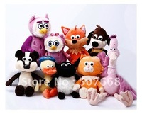 Timmy shaun the sheep pelican owl ducklings let kitten puppy hedgehog Badger owlet fox