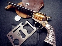 1/2.5 nostalgic Colt Python M1873 Karte metal simulation handgun Toy gun  model crafts  guns