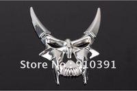 Free Shipping DIY alloy 3D car sticker,Demon window sticker,Devil mask sticker,Car Emblem Bedges,auto car accessory.