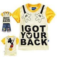 Футболка для девочки BB_013! Hot sale! Summer cartoon red hello kitty print 100% cotton short-sleeve