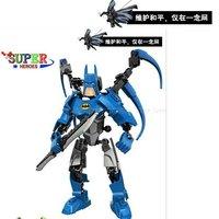 New toys hot sale  Avengers alliance supper hero building robots block supper bat men ,Free shipping