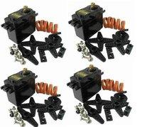 4 x TOWER PRO MG995 DIGI SERVOS Metal Gear High Speed & Torque Servo For RC